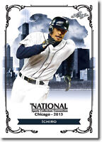 50) ICHIRO Seattle Mariners 2013 Leaf National Convention PROMOTIONAL Card LOT