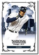 ICHIRO.- 2013 Leaf National Convention PROMOTIONAL Baseball Card