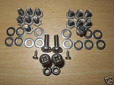 VW classic  BEETLE WINDOW WINDERS & 1/4 LIGHTS STAINLESS STEEL BOLTS SCREWS X 2