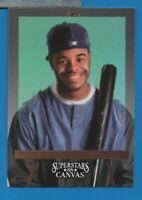 1993 Leaf Studio ERROR - KEN GRIFFEY Jr.  Superstars on Canvas INSERT #1 NO NAME