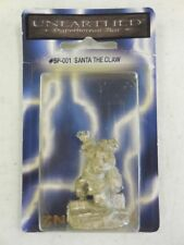 2002 Evil Santa Claus Metal Miniature ~ Santa The Claw ~ Zn Games Unearthed New!