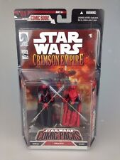 Star Wars Figura Set-Comic Packs Carnor Jax & Kir Kanos Crimson Empire