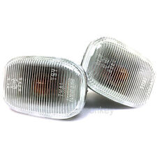 OEM Toyota 93-98 Supra JZA80 Clear Side Markers Sidemarkers Lights Genuine Parts