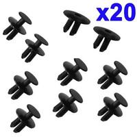 For BMW Front & Rear Bumper Wheel Arch Lining Fixing Clips Plastic Screw 20pcs