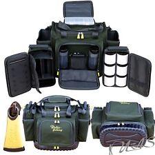 Delta Fishing XXL Luxus Karpfentasche mit Tackle Box Dip Gläser Angel Tasche Rba