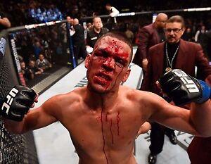 NATE DIAZ 8X10 PHOTO UFC CHAMPION PICTURE MMA