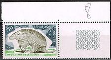France Fauna Wild Animal Armadillos of Guyana stamp 1974 MNH