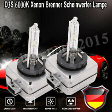 2 x D3S 6000K  35W Hid Xenon Brenner Scheinwerfer Lampe NEU ►E-Geprüft◄