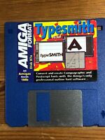 Amiga Format Magazine Cover Disk 87a Typesmith V2.5af tested & working