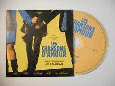 ALEX BEAUPAIN : LES CHANSONS D'AMOUR ♦ CD SINGLE PORT GRATUIT ♦