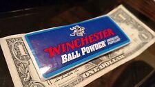 BUY 1 GET 1 FREE Winchester Ball Powder Smokeless OEM/Original Decal / Sticker
