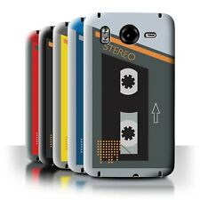 STUFF4 Back Case/Cover/Skin for HTC Desire HD/G10/Retro Cassette Player