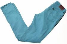 LEE Girls Jeans 13-14 Years W26 L29 Blue Cotton Slim  GW06