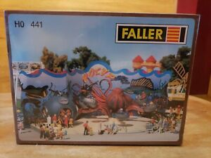 Faller Carvinal Ride Carousel Polyp HO Scale Kit 441 Motorized Octopus Ride NEW