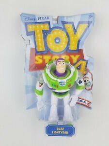 Toy Story 4 Buzz Lightyear Posable Figure NEW Disney Pixar 2019 Mattel