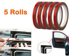 5 Rolls Automotive Acrylic Plus Double Sided Attachment Tape Car Truck 3m*6mm