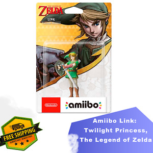 Amiibo Link Twilight Princess, The Legend of Zelda Nintendo 3DS Wii WiiU Switch