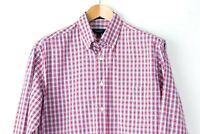 GANT Men Oxford Tattersall Regular Fit Check Casual Shirt Size M RZ138