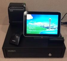 POSX POS-X POS System, HP ElitePad , Printer, Drawer, Scanner, Card Reader (u1)