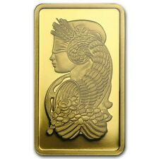 5 GRAM - PURE GOLD BAR - PAMP SUISSE - FORTUNA - VERISCAN ® - ASSAY- $9.99 - BID