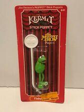 Vintage 1979 Jim Henson's MUPPET Stick Puppet KERMIT the Frog Fisher Price MOC