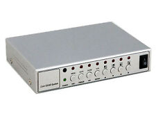 4 ch QUAD MULTIPLEXER CCTV SPLITTER VIDEO PROCESSOR PIP analogue cameras