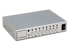 Divisor Quad multiplexor Cctv de 4 Canales Procesador De Video Cámaras analógica PIP