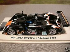 1/43 Spark mg-lola ex 257 #11 Sebring 2002 scmg 04