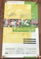 Autographed Women's National Soccer Team 2000 Gold Cup Poster Inaugural Year