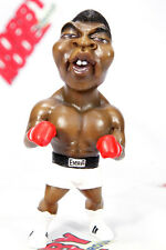 MUHAMMAD ALI RUMBLE IN THE JUNGLE FUNNY PAINTED DEFORMED SD RESIN MODEL FIGURE