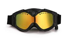 Redbox-smart lunettes de ski caméra THB029/HD1080P intégré 5MP caméra hd (noir)