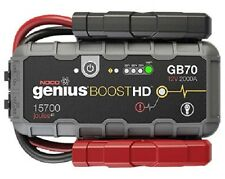 NOCO GENIUS Boost GB70 Jump Starter Batterie Starthilfe 12V Car ATV Motorcycle