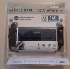 Belkin DC/AC 140-Watt Power Inverter (F5C400-140W) AC Anywhere NEW #126