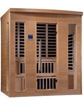 Dynamic 6 Per Manhattan Low Emf Far Infrared Sauna, Customer Dual Level Bench