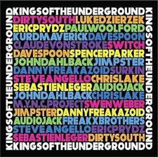 KINGS OF THE UNDERGROUND - 001 MIXED BY KINGS OF THE UNDERGROUND NEW CD