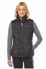 FREE COUNTRY LADIES ULTRAFILL PUFFER VEST JACKET IN BLACK, SIZE S