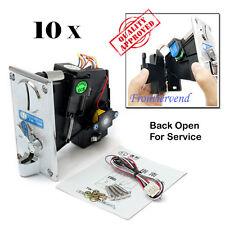10 Packs TW130B CPU Coin Selector Acceptor Crane Vending  arcade Jamma game
