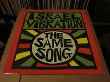 Israel Vibration – The Same Song (Vinyl, LP) Pressure Sounds (LP PS003) 1995