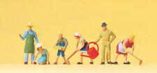 "PREISER 14081 H0 figurines "" à la jardinage "" # Neuf Emballage d'origine ##"