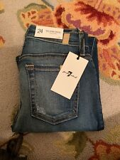 7 For All Mankind Ankle Skinny Size 24