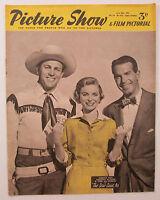 Old vintage Picture Show Magazine June 28, 1952 Howard Keele Dorothy McGuire etc