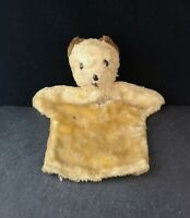 Vintage Teddy bear puppet, hand puppet, 1950's