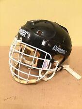 Cooper SK2000 M w/ Shield Mask Cage Black Hockey Helmet Vintage