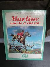 Martine monte à Cheval - 1980
