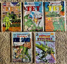 Vietnam Journal TET '68 #1-6 - Blood Bath #1-2, Field Jacket #1 (Apple Comics) -