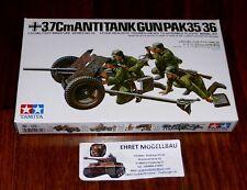 WWII German 3,7 CM ANTI-TANK GUN Pak 35/36 1:35 Tamiya NUOVO 35035