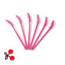 Disposable Eyelash Brush Mascara Wands Applicator Spoolers Makeup Bent 100PCS