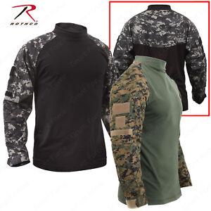Tactical Airsoft Combat Shirts - Rothco Military Style Long Sleeve Shirt
