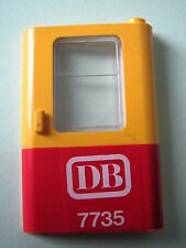 LEGO 4182pb004 @@ Door 1 x 4 x 5 Train Right Red Bottom Half & DB 7735 Pattern