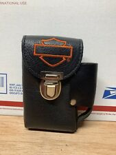 Vintage Harley Davidson Belt Loop Leather Case Pouch Holder
